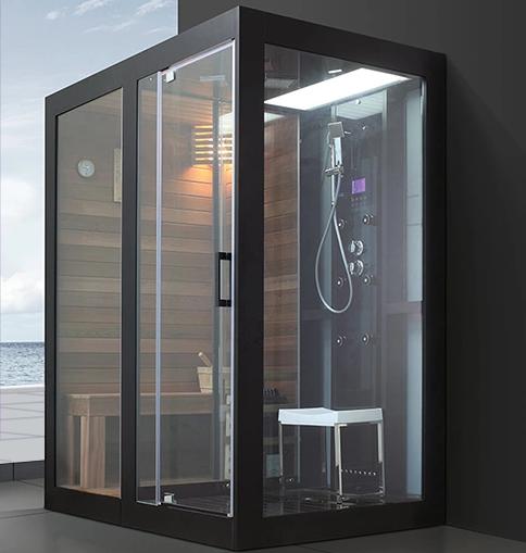 Uso dom stico sauna y vapor combinado habitaci n port til - Productos para sauna ...