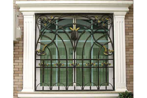Fancy Wrought Iron Window Grill Design For Home Buy Fancy Wrought
