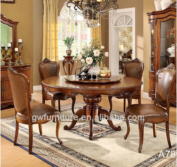 Dining Room Furniture Product: Factory Direct Sales Used Oak Dining Roon Furniture Solid