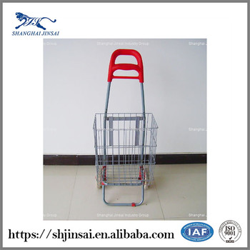 chrome plated gift mini supermarket trolley