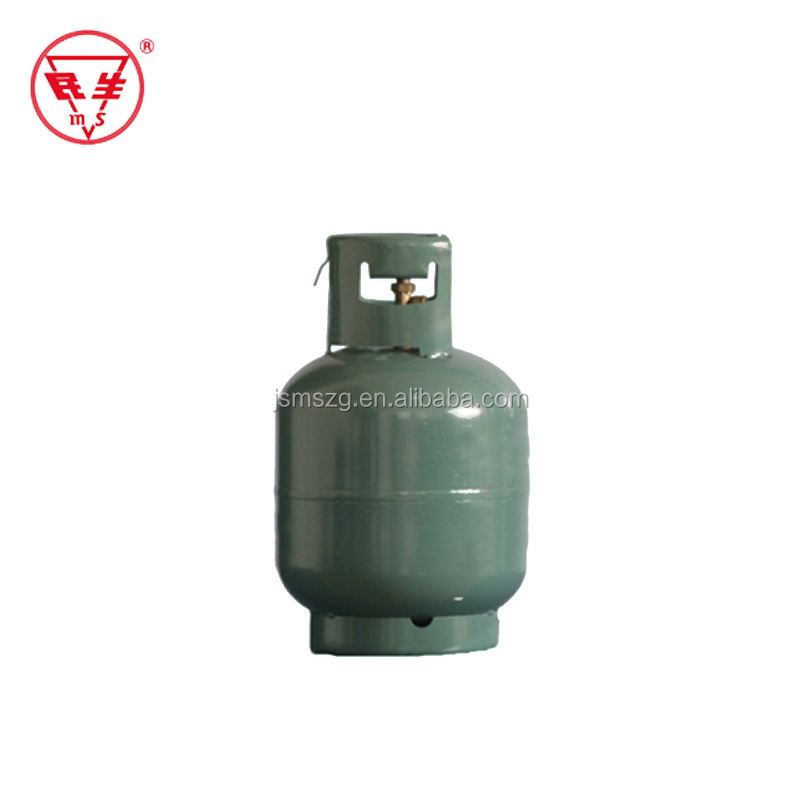 10kg empty lpg gas cylinder with valve