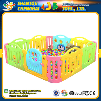 New Products Professional Design Playpen Plastic Indoor Baby Fence ...