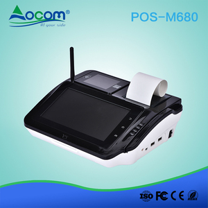 POS-M680 Android 5.1 Desktop POS System with Barcode Scanner and Receipt Printer