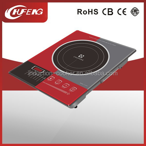 High thermal efficiency induction cooker ceramic plate
