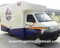 chengli factory hot sale small chang an 4x2 mobile food van