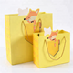 Creative fox gift bag/handbag