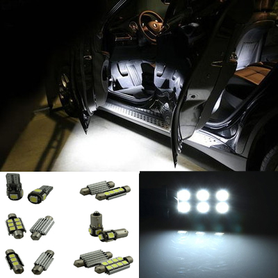 23 шт. интерьер пакет обновления Canbus ошибок из светодиодов освещение внутреннее освещение комплект для X3 E83 F25 2011 - 2014