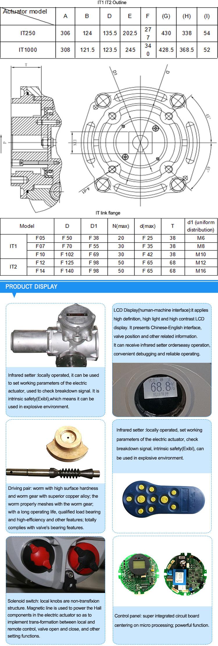 Rotork Actuator Manuals Rotary Actuator Electronic Actuator Iqtm125 - Buy  Electronic Actuator,Rotary Actuator,Rotork Actuator Manuals Product on