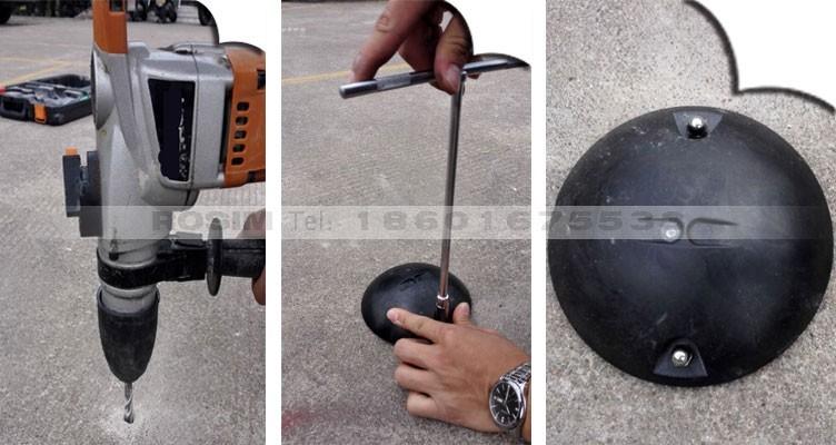 Rosim Wireless Magnetic Car Detection Sensor To Monitor
