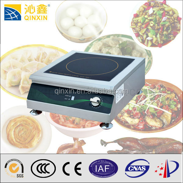 Desktop stainless steel induction solar powered hot plate