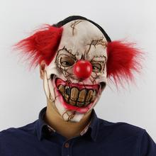 Latex Horreur Halloween Mascarade Costume <span class=keywords><strong>Masque</strong></span> de Clown <span class=keywords><strong>Effrayant</strong></span>