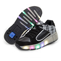 Led Flashing Lights Children Heelys Sneakers with Wheels Kids Roller Skate Shoe with Wheels for Boys