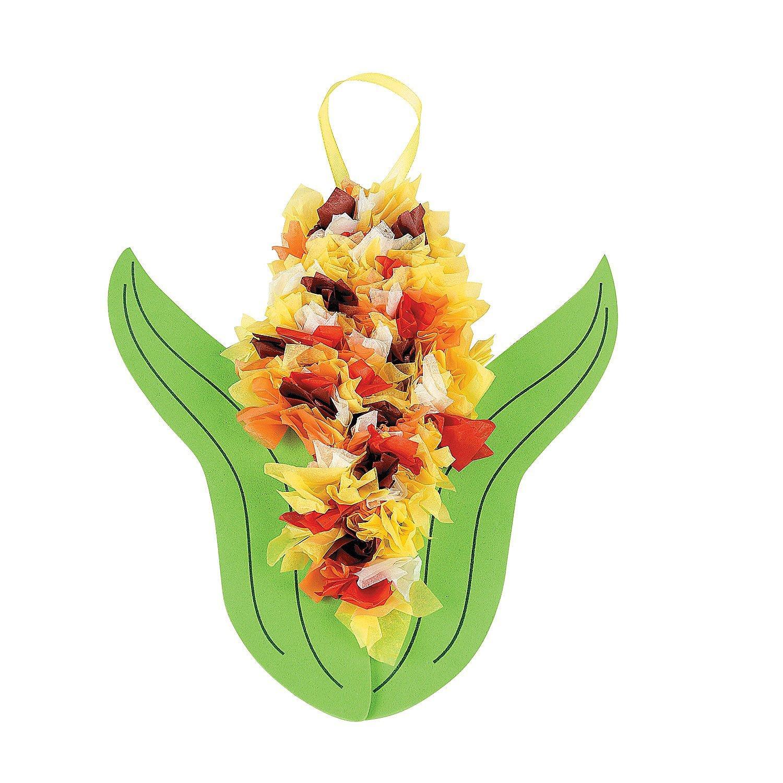 Tissue Paper Flower Craft Kit Yolarnetonic