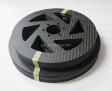 China factory carbon fiber precision cnc motorcycle parts