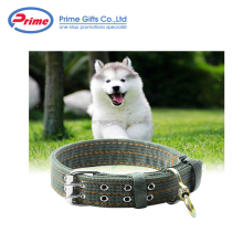 Sturdy Dark Green Dog Collar Nylon for Large Dog