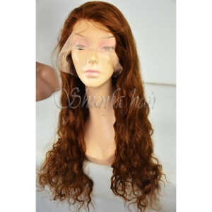 All kinds of hair curls Brazilian Virgin Hair Full Lace Wigs with Baby Hair