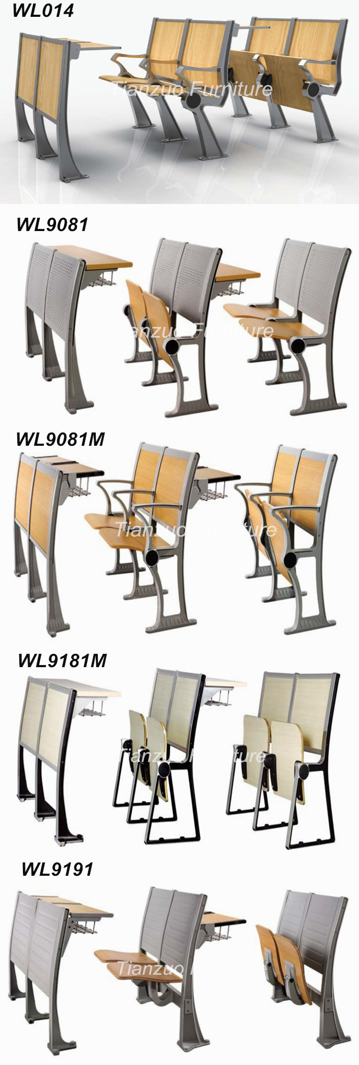 Study Table Chair For College Students WL918mf