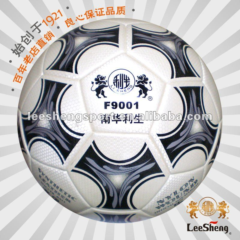 Pearly-lustre PU leather football