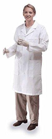 Meta 17010-011- Labcoat, Fluid Resistant, Ladies, XL