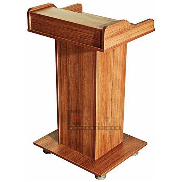 Promote Cheap Modern Wood Church PulpitMdf