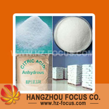 Food Additive Citric Acid Anhydrous BP/USP