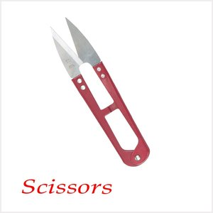 2013 Newest YP-806 10.5cm Sharp new ABS colourful handle scissors