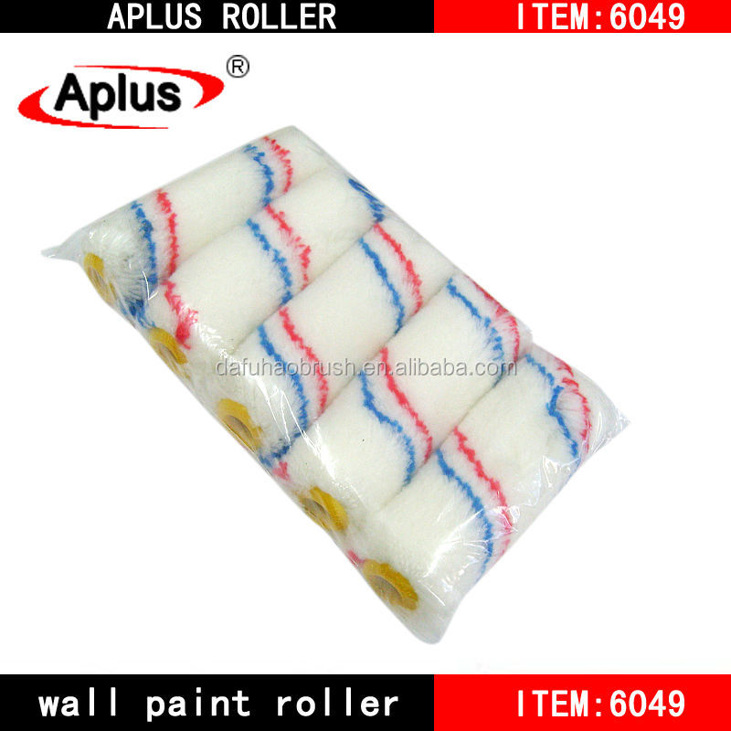 Nylon fabric Paint Roller Refill 4""