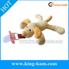 Hot sell factory high quality stuffed dog plush toy with pacifier animal plush toy with pacifier