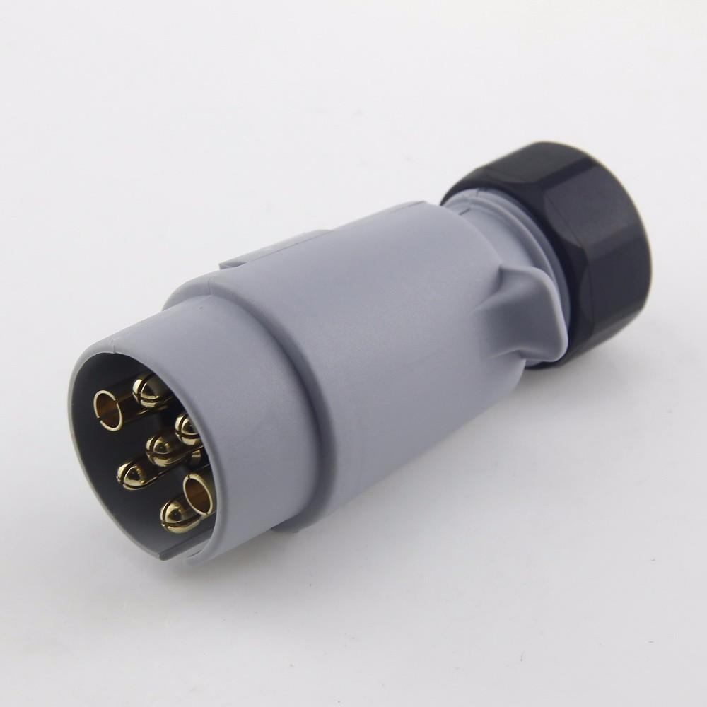 Uk Standard 7pin Foldable Trailer Wiring Plug - Buy Uk 7pin Plug,Uk ...