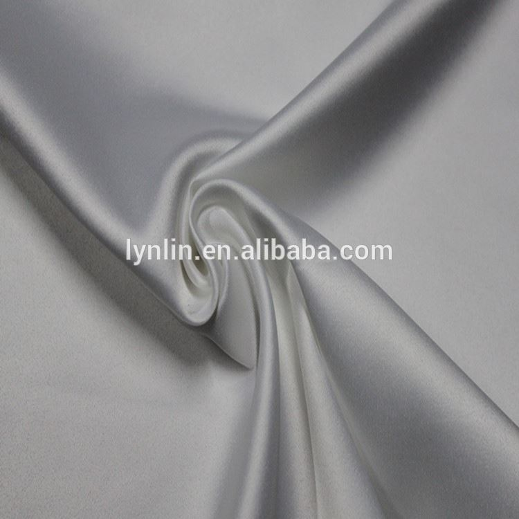 online shopping polyester spandex dull satin fabric for women garment