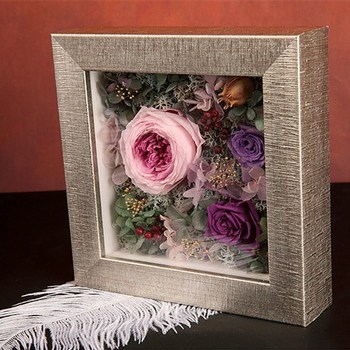 How To Decorate A Shadow Box Enchanting New Square Multi Rose Flower Decoration 60 Inch Deep 60d Shadow Box