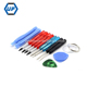 NO663R-13 Opening Tool Kit for iPhone samsung BlackBerry,cell phone repair tool kits for Motorola, Nokia, HTC