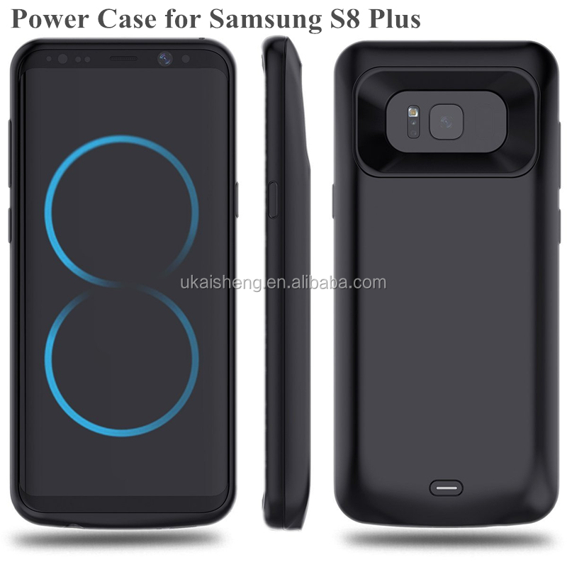 Hot Sale portable extended rechargeable battery case for samsung galaxy s8 plus