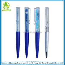Novelty floater ball pen custom colors and liquid floating pen your logo imprinted