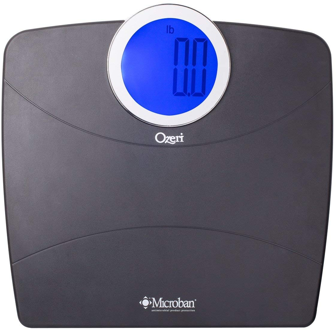 Get Quotations · Ozeri Rev Digital Bathroom Scale With Electro Mechanical  Weight Dial, White