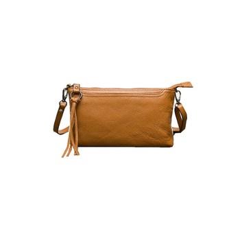 Top grain cow leather shoulder bag women wallets small phone case coin purse  ladies clutch YF1630 9fe7bb6278700