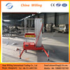 Telescopic Electric Single Mast Hydraulic Single Person Lift