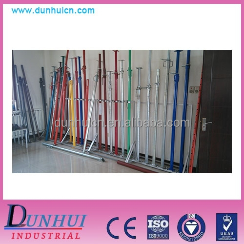 Widely used construction adjustable telescopic steel doka formwork scaffolding shoring steel prop