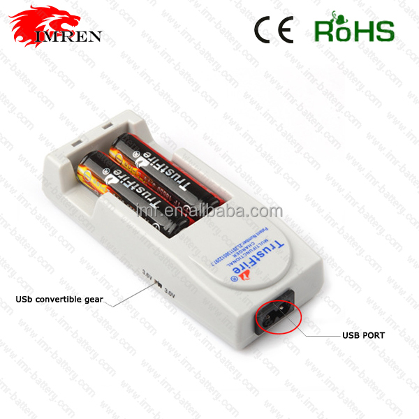 EU/AU/UK/US universal battery charger Trustfire TR-001 power for 10430 10440 14500 16340 17670 18500 18650
