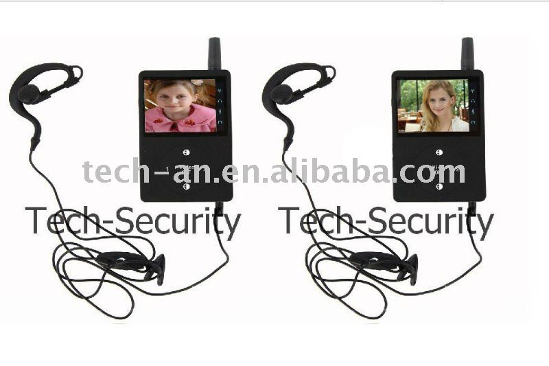 Ta-509 Full-duplex Handheld Video Walkie Talkie Kit