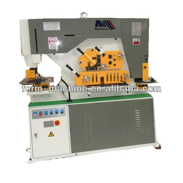 Hydraulic Ironworker Tools Punch Station Press Brake Pipe Notcher - Buy  Hydraulic Ironworker Tools Punch Station Press Brake Pipe Notcher,Iron