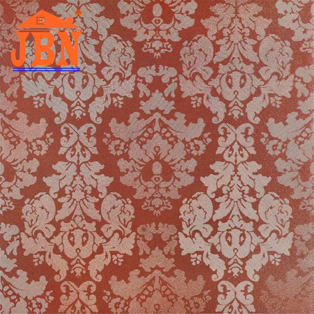 60x60 red color rustic glazed tile/ metallic glazed in indian with good price