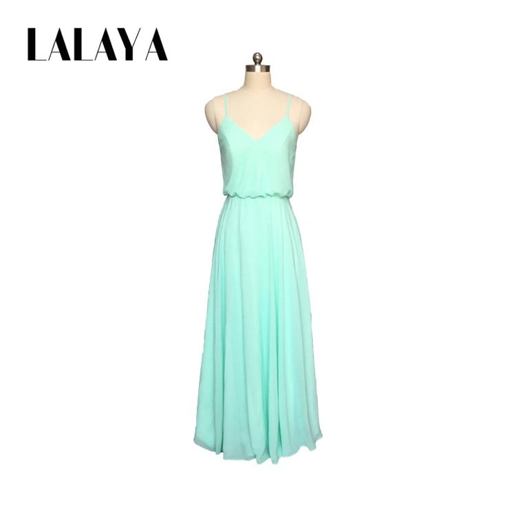 Großhandel brautjungfer kleid grün Kaufen Sie die besten ...