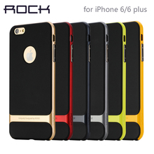 ROCK Original Cell Phone Shell For iPhone 6/6s/6 plus case 4.7″ & 6/6s plus 5.5 Royce PC +TPU ultra-thin Back Cover phone case