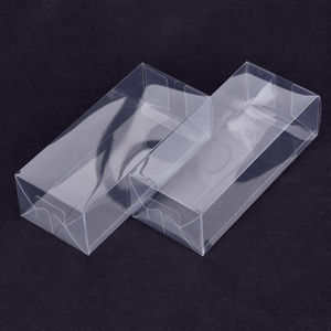 Clear custom made PET plastic gift clamshell blister packaging box