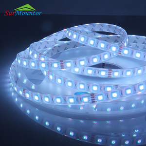 Waterproof addressable RGB LED Strip, LED Strip Light 5050 60D RGB 12V