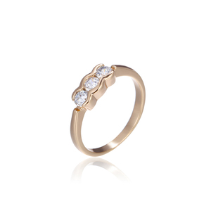 15025 xuping hot sale three stone ring design for baby