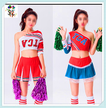 Adult Party Fancy Dress Sexy Cheerleader Dance Costumes HPC-3156