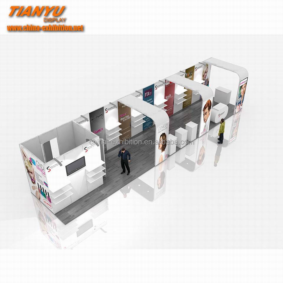 customized modern exhibition stall design
