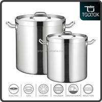 Restaurant & Hotel supplies cooking pots / Stainless steel large cooking pots